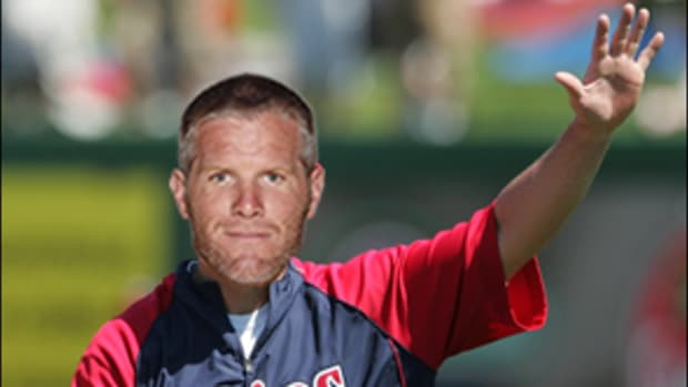 Favre Announces Return... To Baseball!