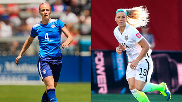 The Key to D with World Cup Winners Becky Sauerbrunn and Julie Johnston