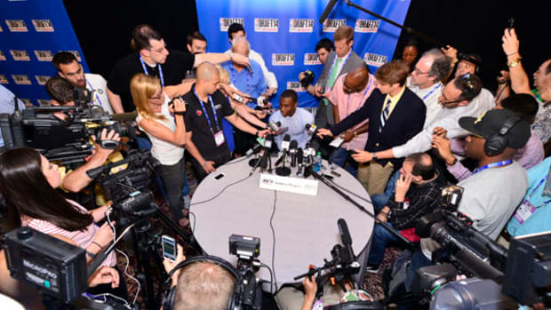 Top Prospects Meet the Press at NBA Draft Media Day