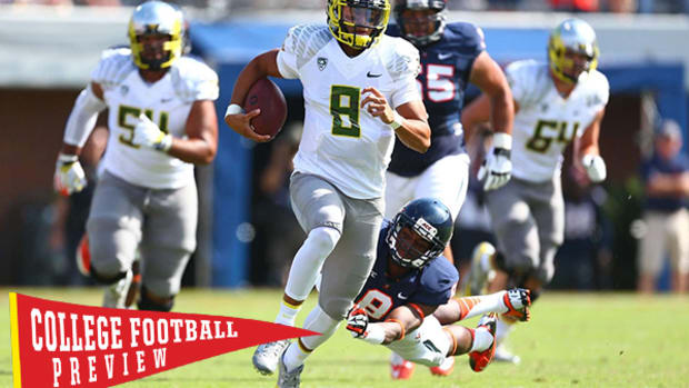 College Football Preview 2014: Heisman Contender Marcus Mariota Has Oregon Thinking National Title