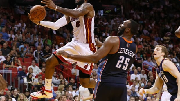 King James Conquers Charlotte with 61-Point Night