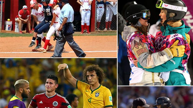 Five Great Moments of Sportsmanship in 2014