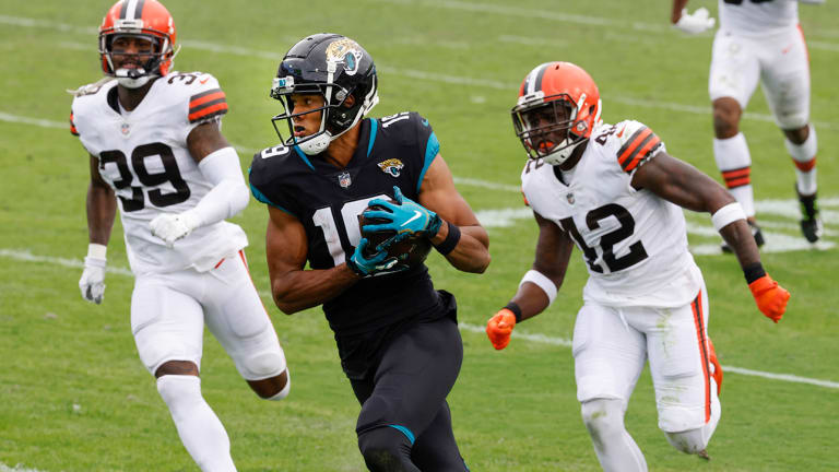 Jaguars WR Collin Johnson Shines in Rookie Season