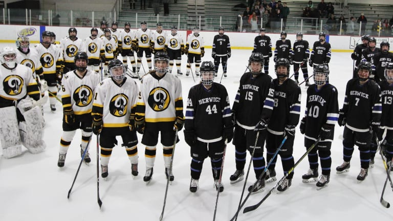 New England High Schoolers Hit the Ice to #StickItToStigma
