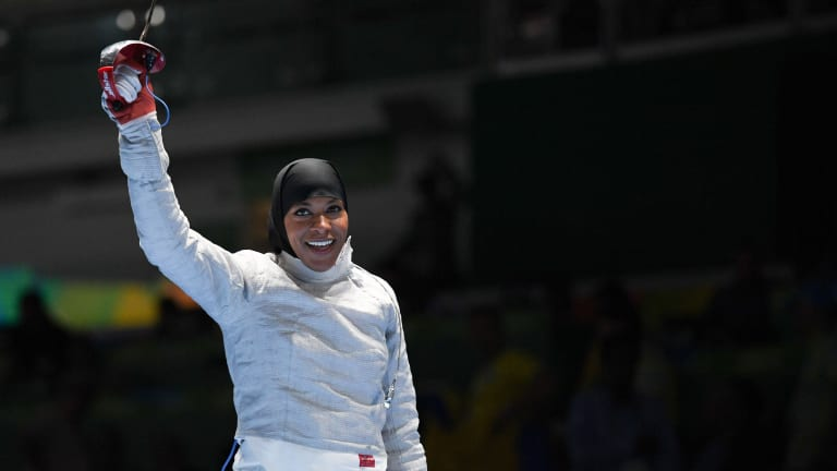 "Q&A: Ibtihaj Muhammad Talks about Fencing, ""The Proudest Blue,"" and Advice for Young Athletes"