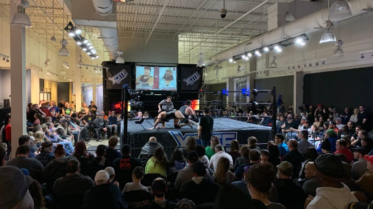 From Local Gyms to Arenas, Wrestling Bounces Back from the Pandemic