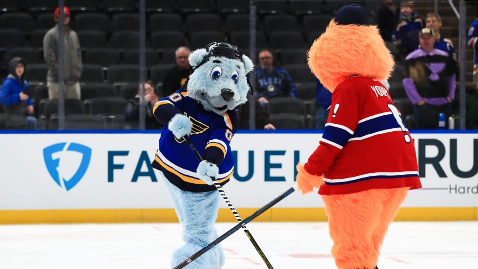 NHL Stars, Mascots Amaze during All-Star Weekend