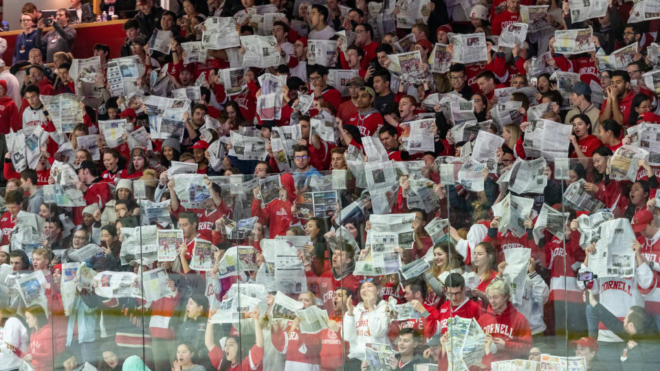 Cornell-Harvard Hockey Rivalry Still Going Strong After 110 Years