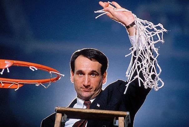 Classic Photos of Mike Krzyzewski - 2