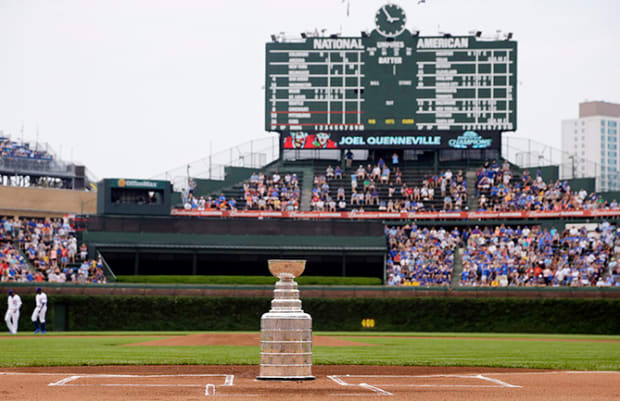 Where Will the Stanley Cup Go Next? - 1 - Wrigley Field