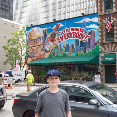 SABR 45 Walking Tour of Chicago Baseball History - 12 - Stop 11: Harry Caray Steakhouse
