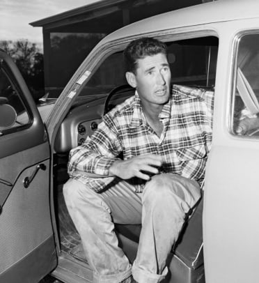 Athletes and Their Cars - 30 - Ted Williams