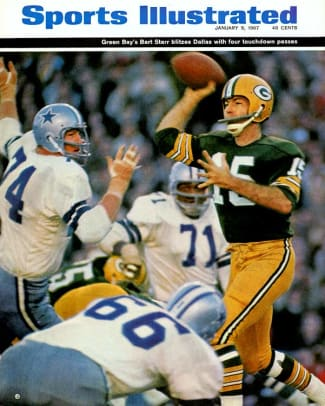 Best NFC Championship Games - 1 - 1966: Packers 34, Cowboys 27
