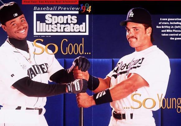 Ken Griffey Jr. Covers - 2 - April 4, 1994