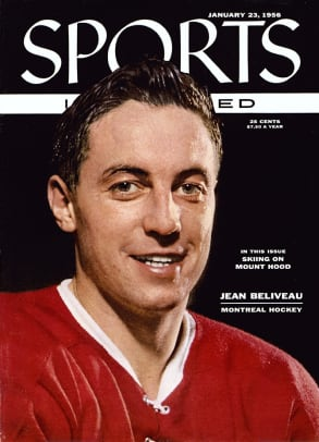 Canadiens Great Jean Beliveau's Life in Pictures - 1 - Slide Title