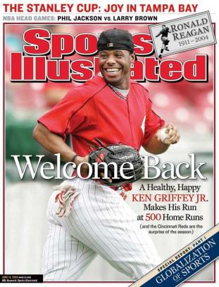 Ken Griffey Jr. Covers - 9 - June 14, 2004