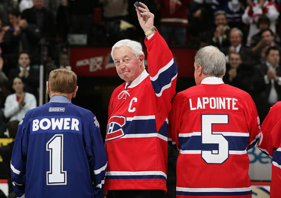 Canadiens Great Jean Beliveau's Life in Pictures - 15 - Slide Title