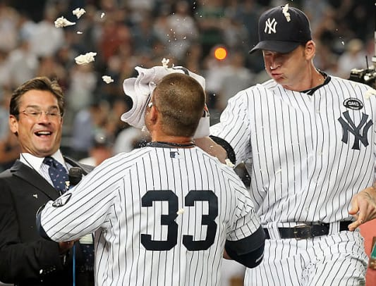Celebratory Pies in the Face - 2 - Nick Swisher