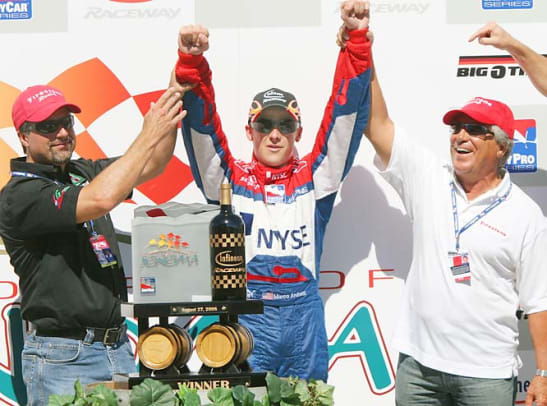Famous Fathers - 22 - Mario, Michael and Marco Andretti