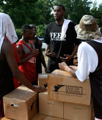Al Jefferson's Community Service Week - 2