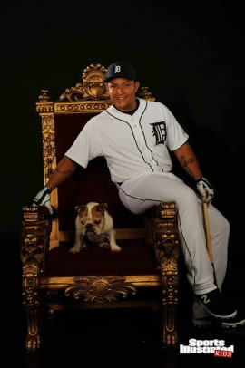 Miguel Cabrera Photoshoot Outtakes - 2
