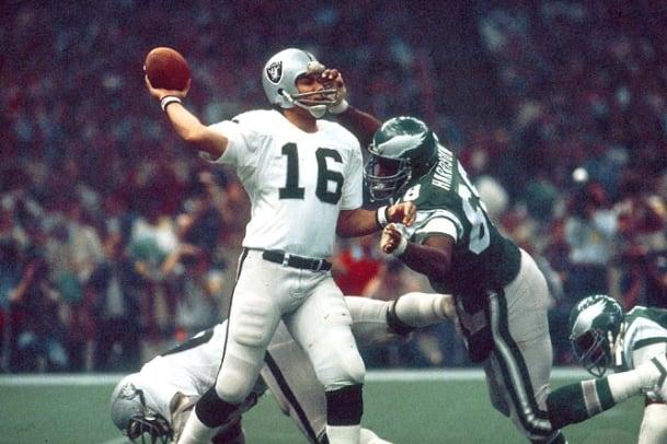 Super Bowl Upsets - 8 - Raiders over Eagles