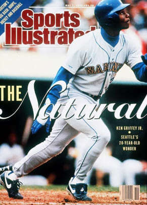 Ken Griffey Jr. Covers - 1 - May 7, 1990