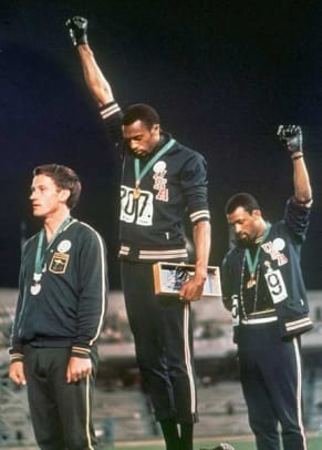 Back in Time: October 16 - 1 - Tommie Smith and John Carlos