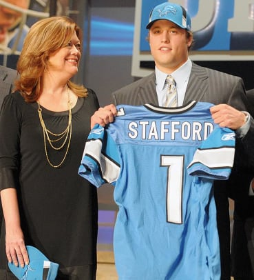 Athletes and Their Mothers - 2 - Matthew Stafford
