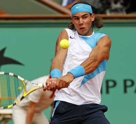 Famous Lefties - 1 - Rafael Nadal