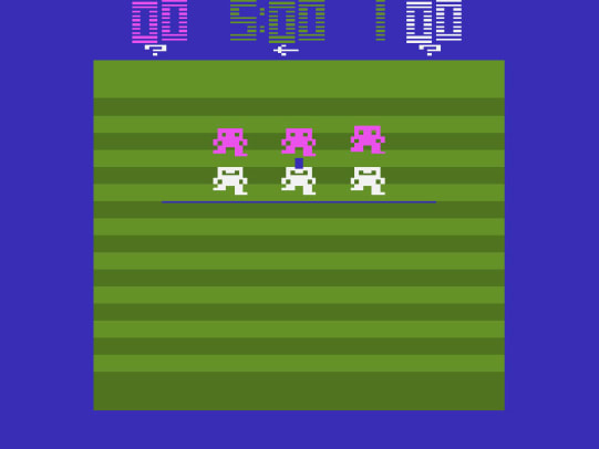 From Mattel to Madden - 2 - Football for the Atari 2600
