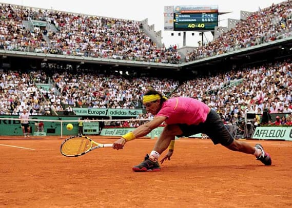 Greatest Upsets In Sports History - 1 - Robin Soderling (23) defeats Rafael Nadal (1)