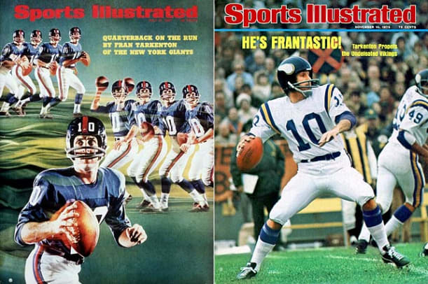 Star QBs with Mid-Career Team Changes - 1 - Fran Tarkenton