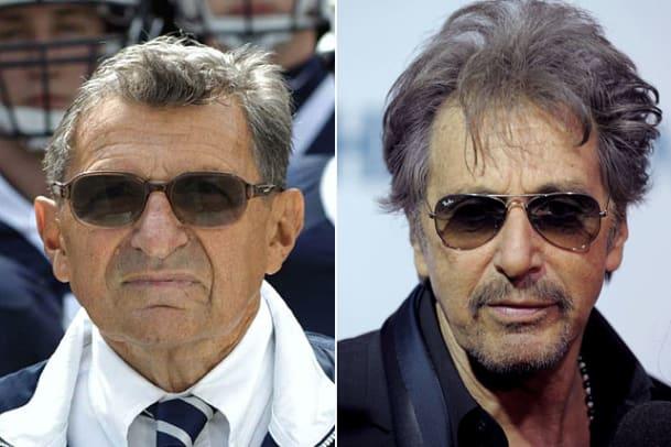 Sports Figures Portrayed in Movies - 1 - Al Pacino as Joe Paterno