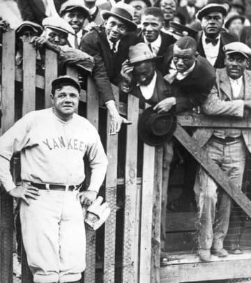 Classic Spring Training Shots - 2 -  Babe Ruth