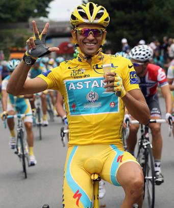 Tour de France Grand Champions - 9 - 3. Alberto Contador ('07, 09-10)