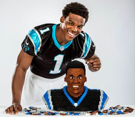 LEGO in Sports - 1 - Cam Newton