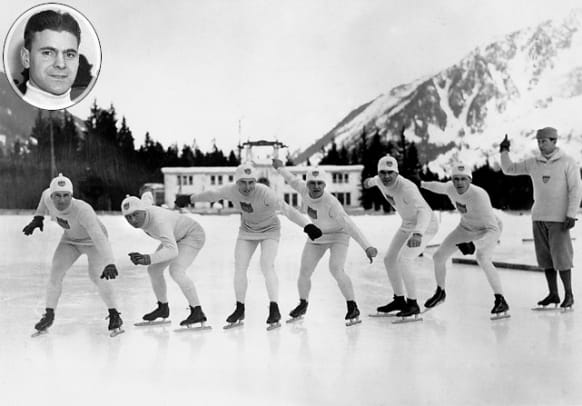 Top 15 USA Winter Olympic Moments - 1 - Charles Jewtraw