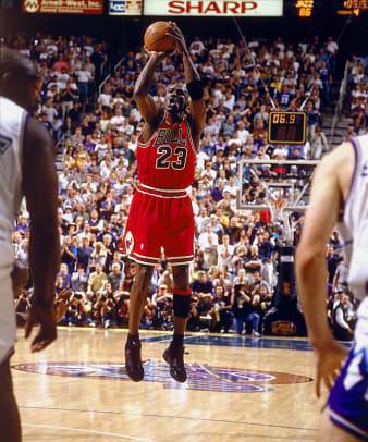 Memorable Moments of the NBA Finals - 1 - Michael Jordan