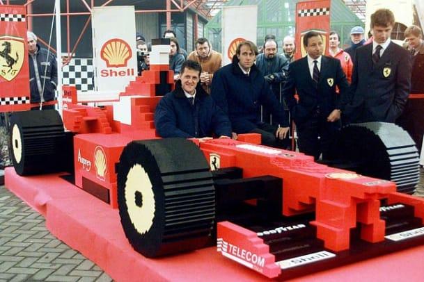 Michael Schumacher F1 Ferrari F300