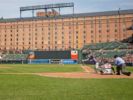 The Best Arenas in Sports - 1 - Oriole Park at Camden Yards