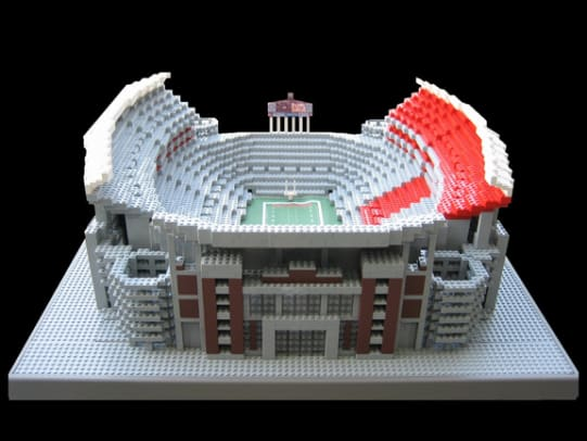 LEGO Stadiums - 1 - Bryant-Denny