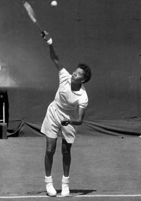 Iconic Images of the U.S. Open - 1 - Althea Gibson