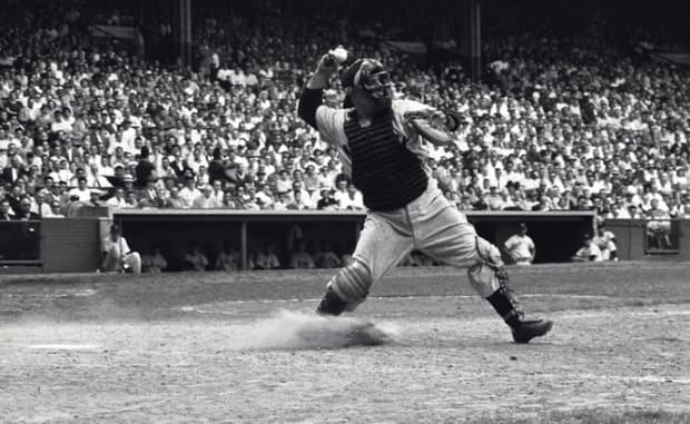 Rare Yogi Berra Photos from the SI Vault - 2 - June 11, 1955