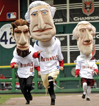 MLB Mascots - 20 - The Presidents (Nationals)