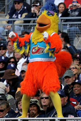 MLB Mascots - 1 - San Diego Chicken (Padres)