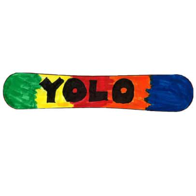 Design a Snowboard Contest - 10 - YOLO