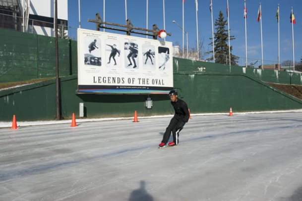 Training for the Special Olympics World Winter Games - 9 - O'Conner Anderson