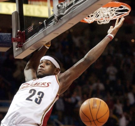 NBA's Greatest Rookies Of All Time - 2 - LeBron James