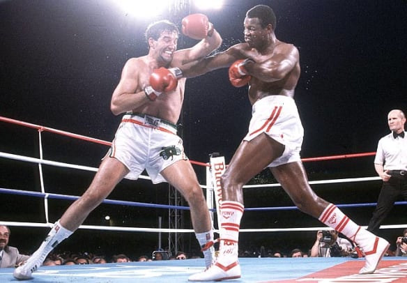 Back in Time: June 11 - 1 - Larry Holmes and Gerry Cooney
